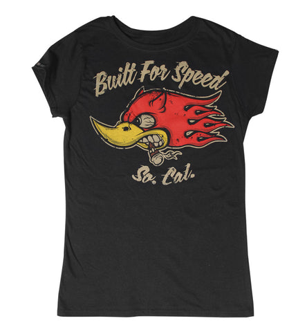 T SHIRT WOMEN Built For Speed