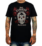 T SHIRT MEN LMDD Black Gambler