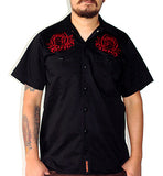 WORKSHIRT MEN LMDD roses