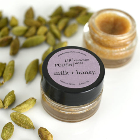 milk + honey lip polish 40