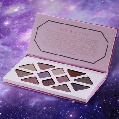 Āether Beauty Amethyst Crystal Gemstone Palette Eye Shadow Āether Beauty