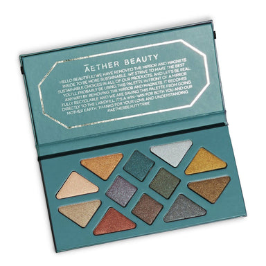 Āether Beauty Crystal Grid Gemstone Palette Eye Shadow Āether Beauty
