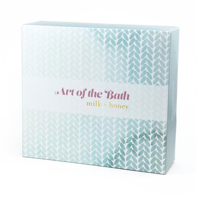 Art of the Bath Set Gift Set milk + honey
