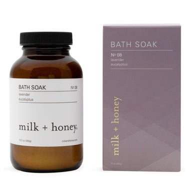 Bath Soak, Nº 08 Bath Soak milk + honey