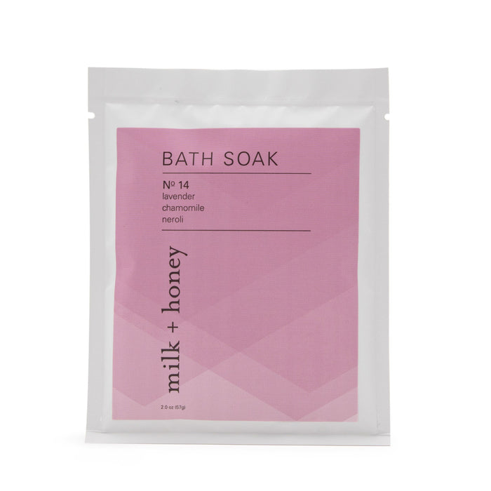 Bath Soak Nº 14 Packets Bath Soak milk + honey