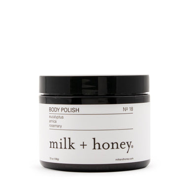 Body Polish, Nº 18 body polish milk + honey