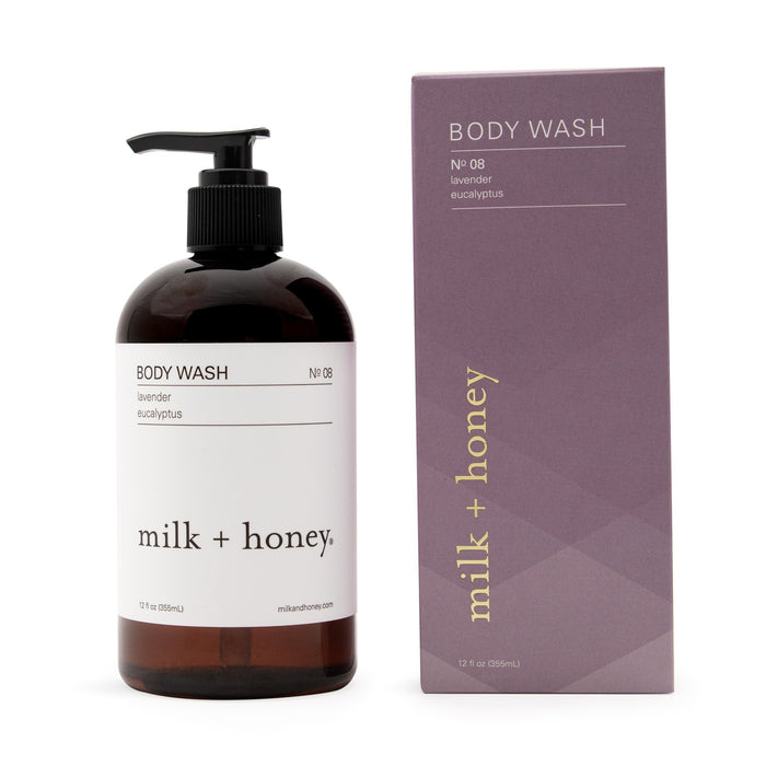 Body Wash, Nº 08 Body Wash milk + honey