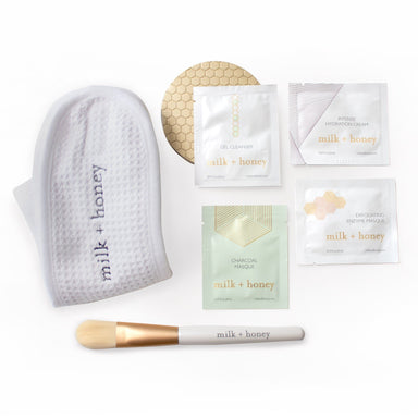 Facial Starter Set + Trial + Travel milk + honey