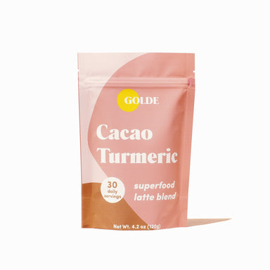Golde Cacao Turmeric Latte Blend Supplement Golde