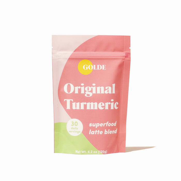 Golde Original Turmeric Superfood Latte Supplement Golde