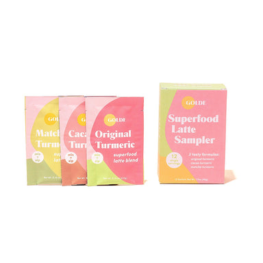 Golde Superfood Latte Sampler Supplement Golde