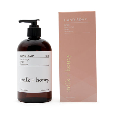 Hand Soap, Nº 35 Hand Soap milk + honey