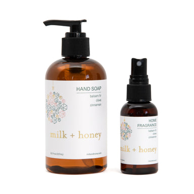 Holiday Host Essentials Gift Set milk + honey