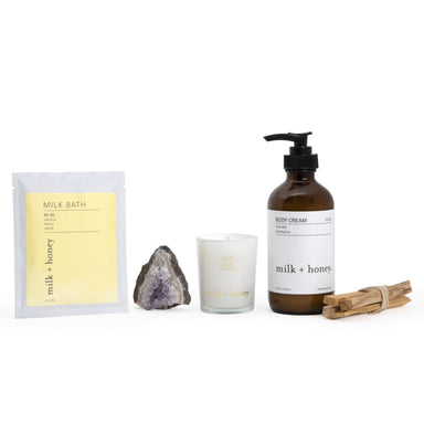 Home for the Holidays Gift Set milk + honey