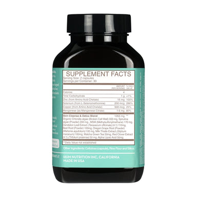 HUM Daily Cleanse Detox Supplement Supplement HUM Nutrition