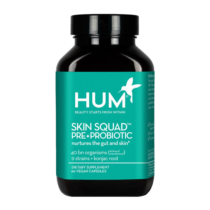 HUM Skin Squad Pre+Probiotic For Clear Skin Supplement Supplement HUM Nutrition