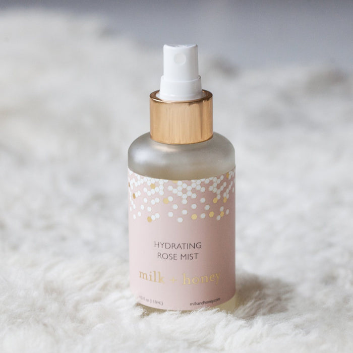Hydrating Rose Mist Toner milk + honey