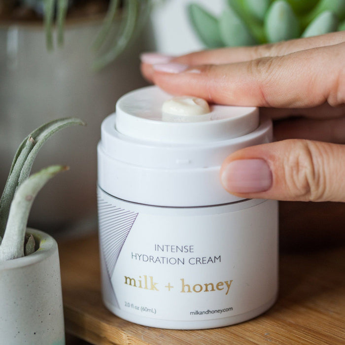 Intense Hydration Cream Moisturizer milk + honey