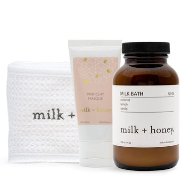Mama Unwind Bundle Gift Set milk + honey