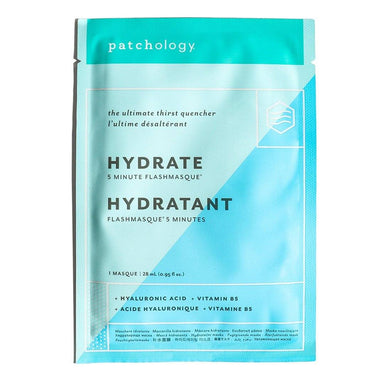 Patchology FlashMasque® Hydrate 5 Minute Sheet Mask Masks and Exfoliants Patchology