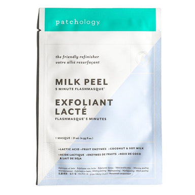 Patchology FlashMasque® Milk Peel 5 Minute Sheet Mask Masks and Exfoliants Patchology