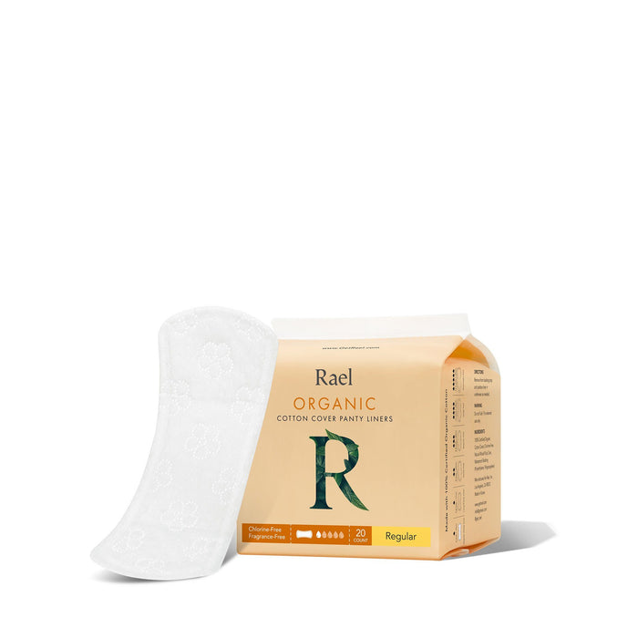 Rael Organic Cotton Cover Panty Liners Tampons Rael