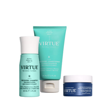 Recovery Discovery Kit Hair Treatments Virtue Labs