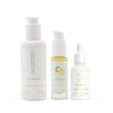 Repair + Restore Skincare Bundle Gift Set milk + honey