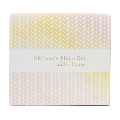 Skincare Heroes Set Gift Set milk + honey