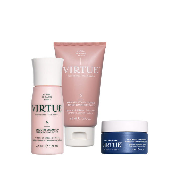Smooth Discovery Kit Hair Treatments Virtue Labs