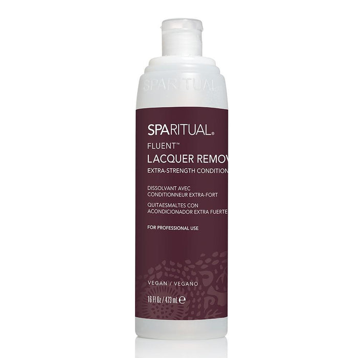 SPARITUAL Fluent Extra Strength Conditioning Lacquer Remover Nail Care Spa Ritual