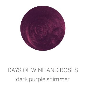 SPARITUAL Signature Vegan Color Nail Care Spa Ritual Days of Wine and Roses