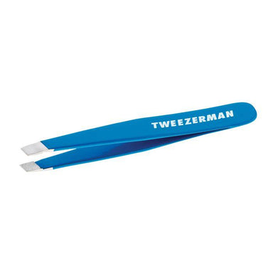 Tweezerman Mini Slant Tweezer Tools Tweezerman Bahama Blue