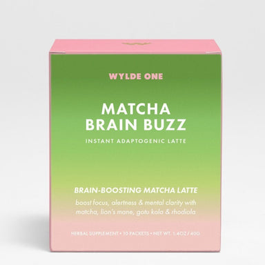 WYLDE ONE Matcha Brain Buzz Supplement WYLDE ONE