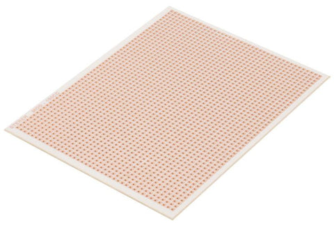 4.1 x 5.4 in (10.7 x 14 cm) Copper Engraved & Drilled Phenolic Board (150CC)
