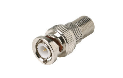 F Jack to BNC Plug M Adapter (200-130)
