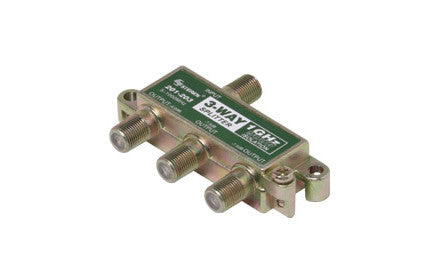 3-Way 1GHz 90dB RF Splitter (201-203)