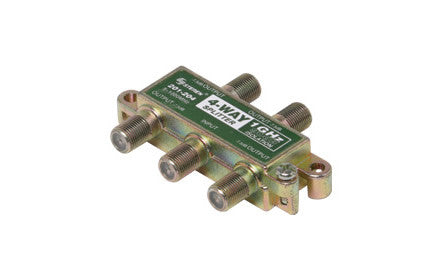 4-Way 1GHz 90dB RF Splitter (201-204)