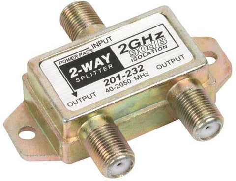 2-Way 2.4GHz 90dB 1 Port Power Pass Splitter (201-232)