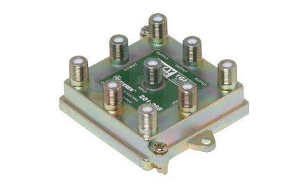 8-Way 1GHz 90dB Vertical RF Splitter (201-268)