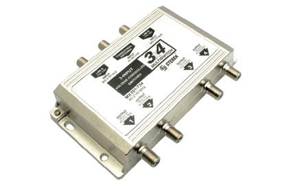 3 X 4 MULTISWITCH FOR SATELLITE SIGNAL (201-734)