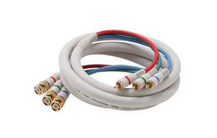 3-RCA to 3-BNC Component Video Cable - Multiple Lengths (254-7xxIV)
