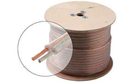 1000' 20AWG 2C Speaker Cable, CL (255-320)