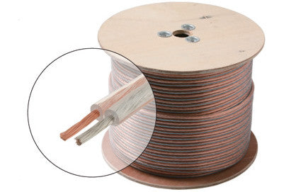 100' 14AWG 2C Speaker Cable, CL (255-514)