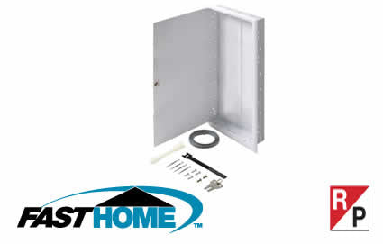 "32"" FastHome™ In-Wall Mount Network Enclosure (550-205)"