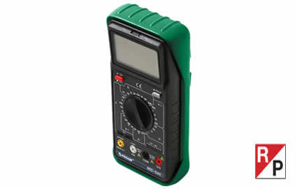 Auto/Manual LCD Digital Multimeter (602-040)