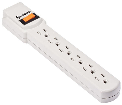 Economic 6-Outlet Power Strip with Switch (905-003)