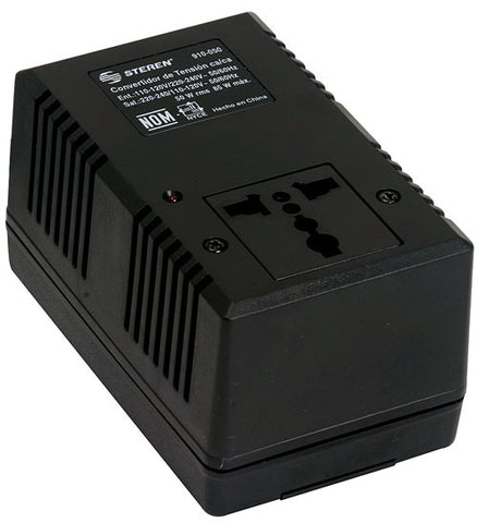 110 to 220 / 200 to 110 VCA, 50 W, AC power adapter (910-050)