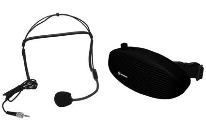 Portable Hands Free Voice Amplifier with Belt Clip (AMP-005)