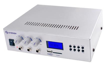 40 Watt Amplifier with 70V Output & Flash Drive Reader (AMP-040)